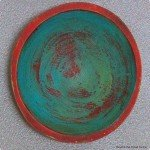 Painted Wood Bowls Become Wall Art