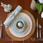 Pottery Barn Easter Tablescape Look for Less