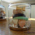 Cloche Jewelry Holder