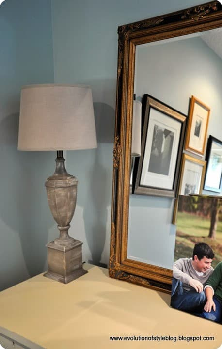 Thrift Store Lamp Makeover With Chalk Paint