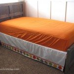 Build a Rustic Wood Twin Bed