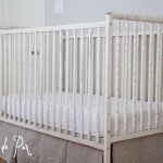 Antique White Spindle Crib