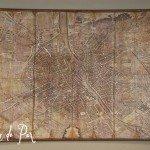 Vintage Decoupage Map
