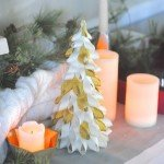 Easy 15-Minute Ribbon Christmas Trees