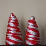 Red and White Rope Christmas Trees
