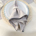 Rope Chargers for a Nautical Place Setting