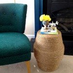 Rope Stool and Side Table