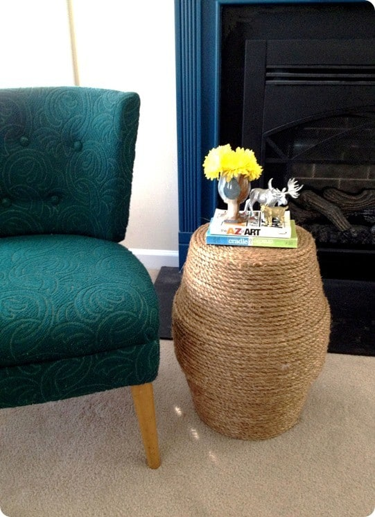 Rope Stool And Side Table Knockoffdecor Com