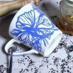Sharpie Art Flower Coffee Mug