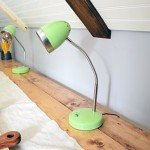 Painted Lamps for a Pop of Color