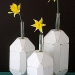 Facet Test Tube Vases