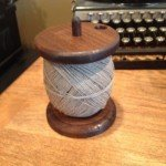 Wooden Twine Spool Holder