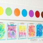 Jumbo Watercolor Paint Palette Wall Décor