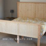 Planked Wood King Bed