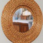 Woven Wall Mirror
