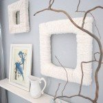 Textured Yarn Picture Frames