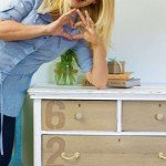 DIY Distressed Anthropologie Dresser