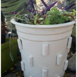 Crate & Barrel Inspired Flower Pot – The Easy Way