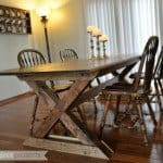 Make Your Own Pottery Barn Style Farmhouse Table