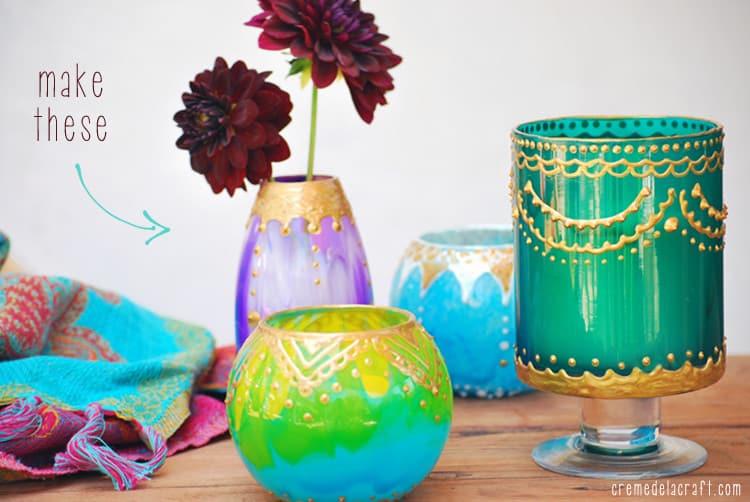 DIY-Project-Idea-Moroccan-Glass-Jar-Candle-Holder-Votive-Lantern-Light-Upcycle-Craft-Tutorial-Blog
