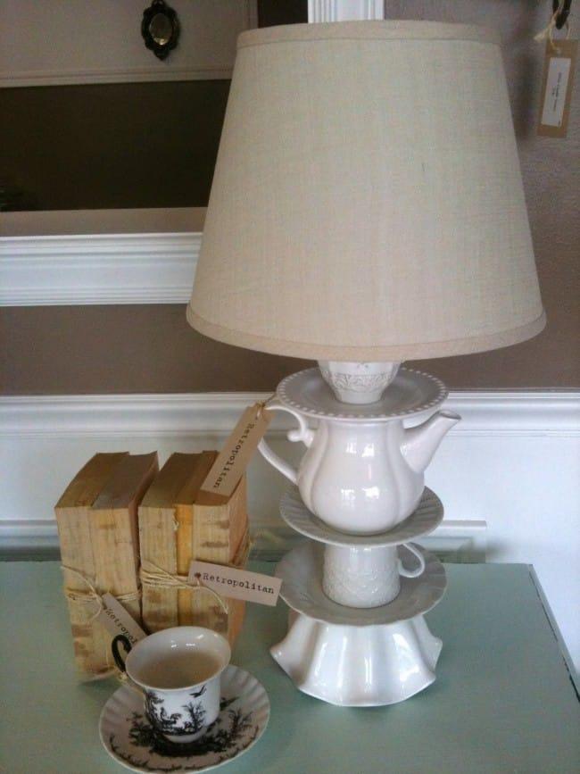 anthro lamp knock off