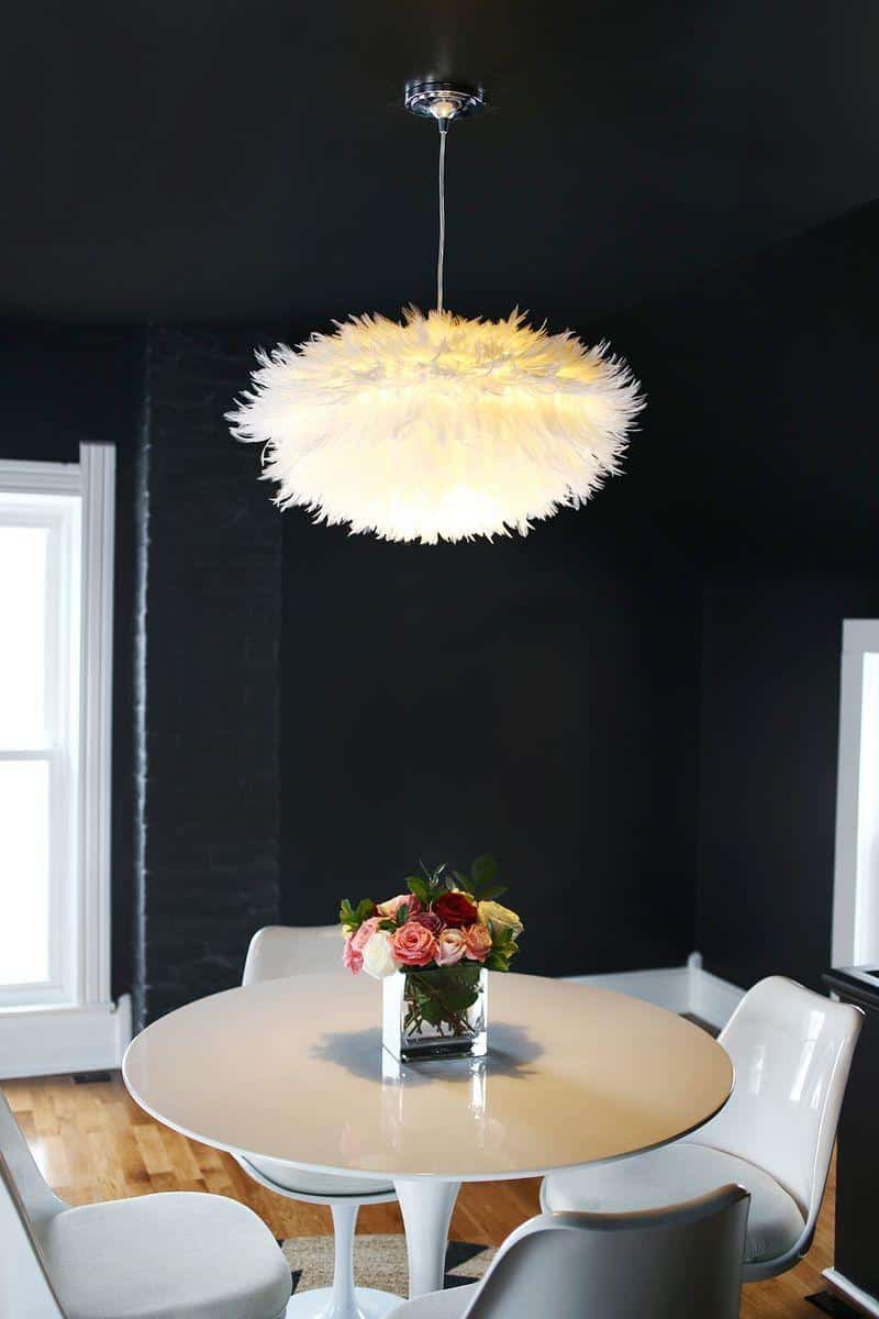 Diy Feather Chandelier Knockoffdecor Com