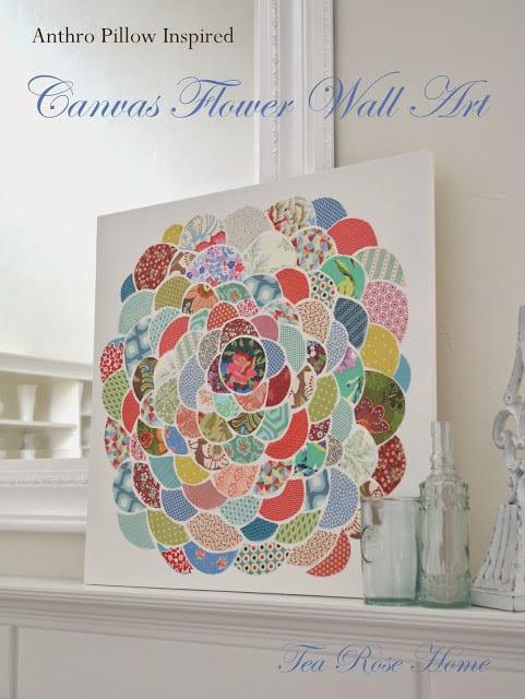 canvasflowerwallarttitle