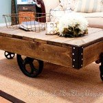 Coffee Cart Table