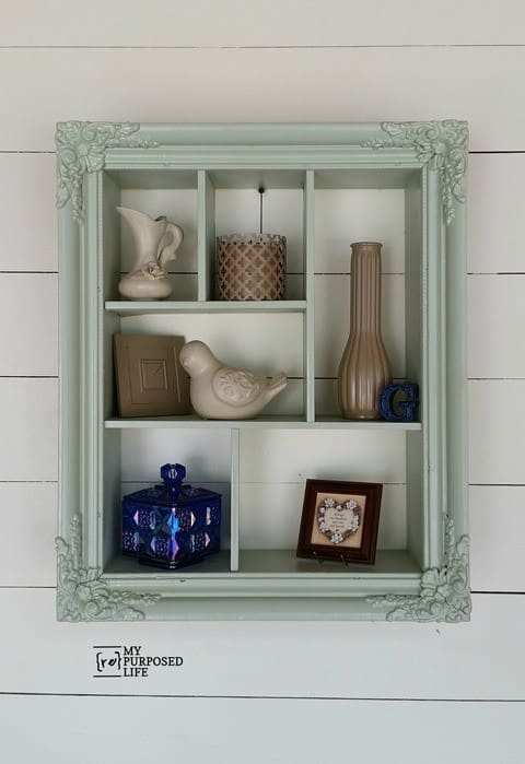 large picture frame display shelf diy - Diy Large Picture Frame