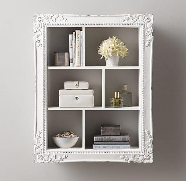 Large Picture Frame Display Shelf DIY
