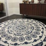 Mandala Rug From a Table Cloth