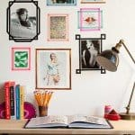 Apartment Hack: Washi Tape Picture Frames