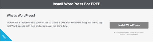 12-Install WordPress for Free