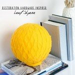 Restoration Hardware Leaf Sphere Knockoff