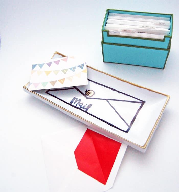 Ashley snail mail tray
