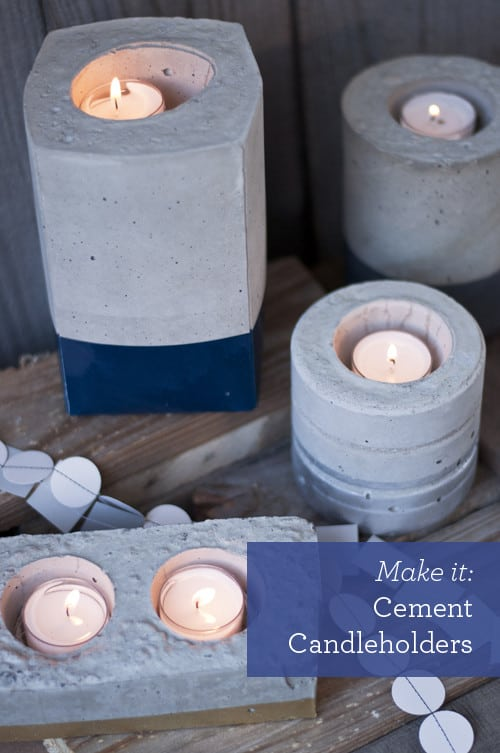 DIY-Cement-Candleholders