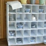 DIY Cubby Organizer Just Like Pottery Barn