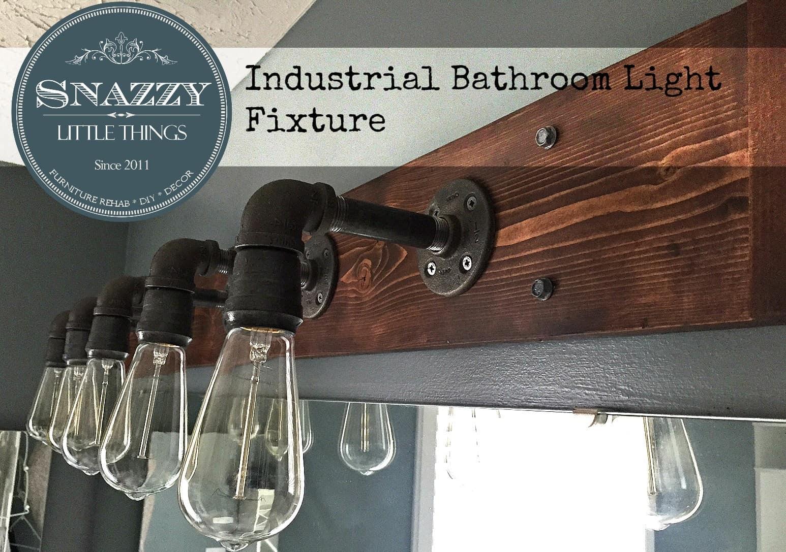 Industrial Bathroom Light Knockoffdecor Com