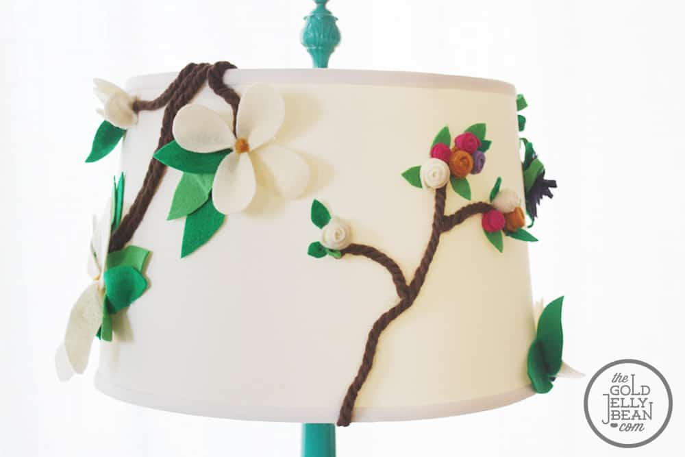 Diy 3d Floral Lampshade Knockoffdecor Com