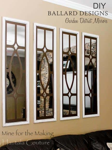 knockoff garden district mirrors just like ballard designs daphne wall mirror ballard designs