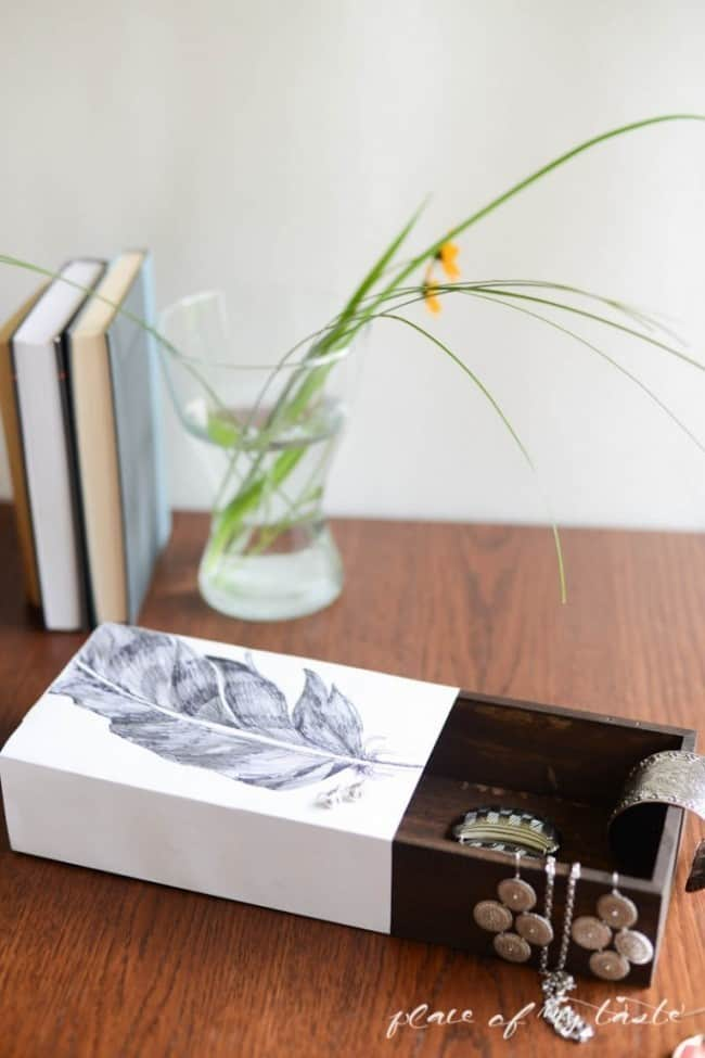 Diy West Elm Sliding Jewelry Box Knockoffdecor Com