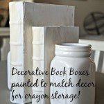 DIY Restoration Hardware Decorative Books