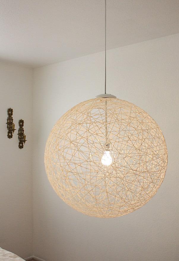 String Pendant Light