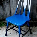 DIY Ombre Accent Chair