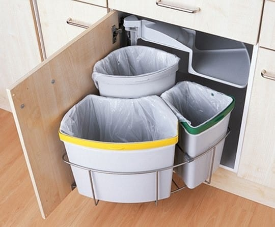 Trash? -check. Recycling? -check. One extra bin? -check.