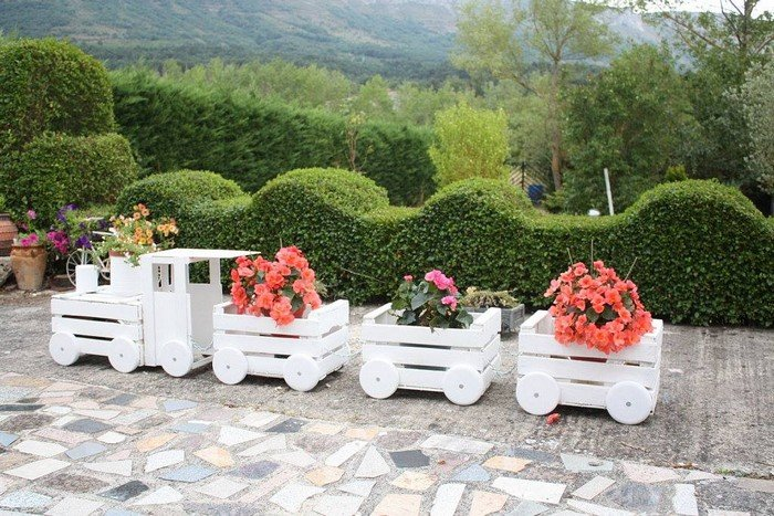 Imagine how this would add character to your garden during every season of the year!