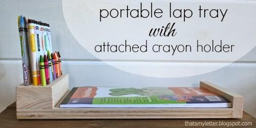 crayon holder tray
