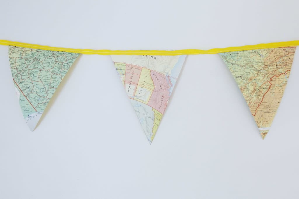 As art or for a special occasion, this bunting is a classic hit.