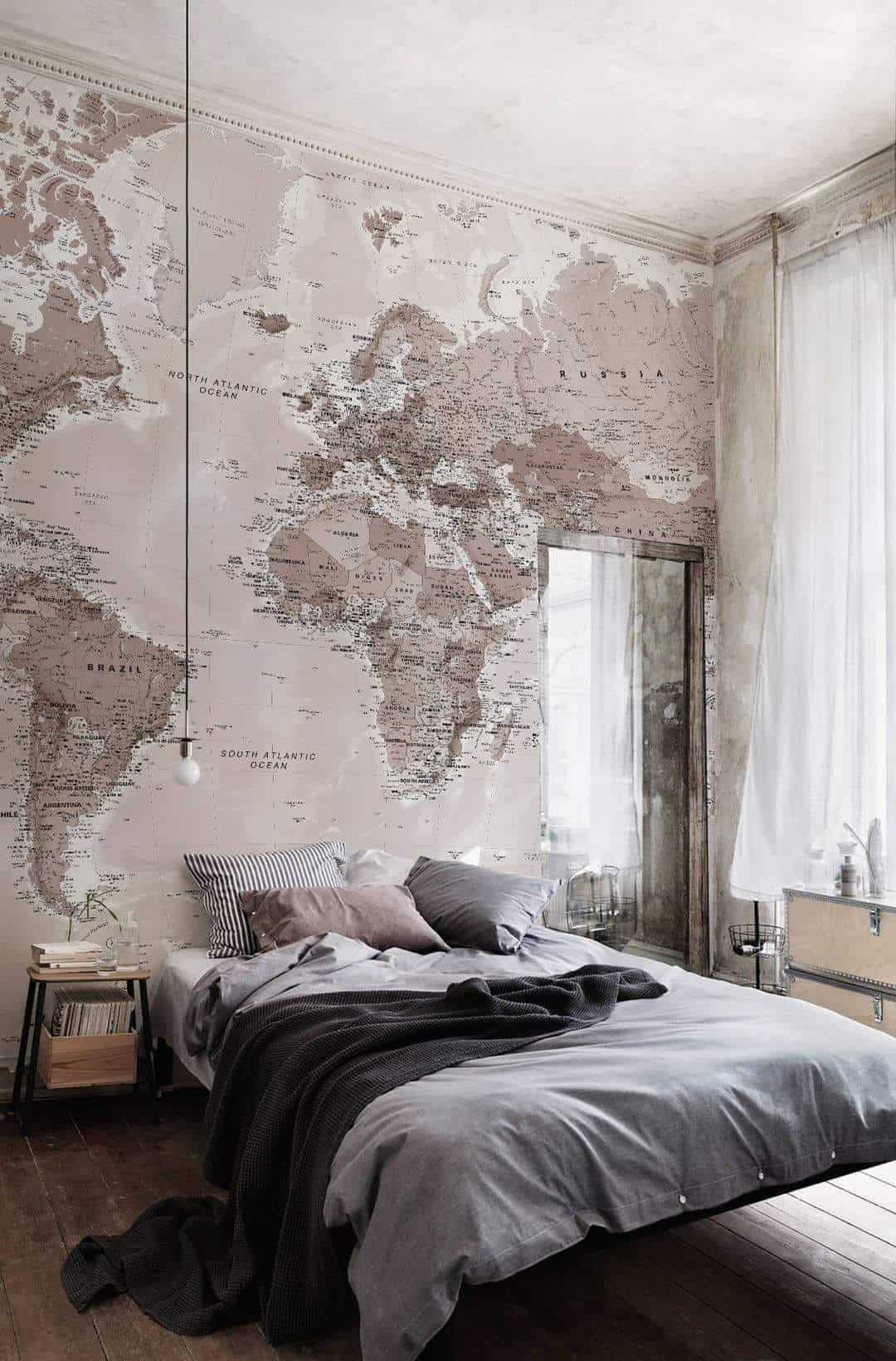 Fall asleep with the world at your feet!