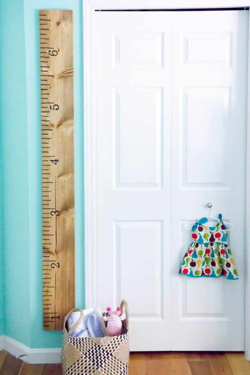 Pottery Barn Inspired Personalized Growth Chart